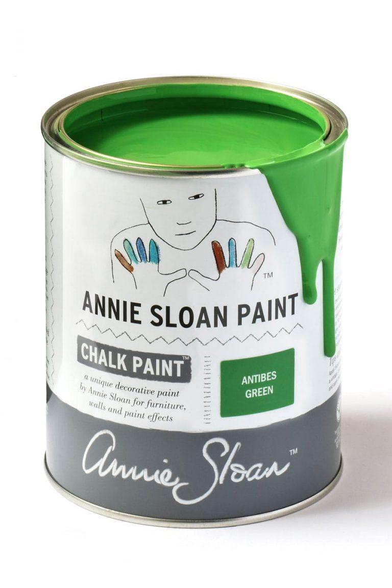 Quart 32 oz Antibes Green Annie Sloan Chalk Paint Can