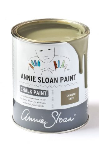 Quart 32 oz Chateau Grey Annie Sloan Chalk Paint Can