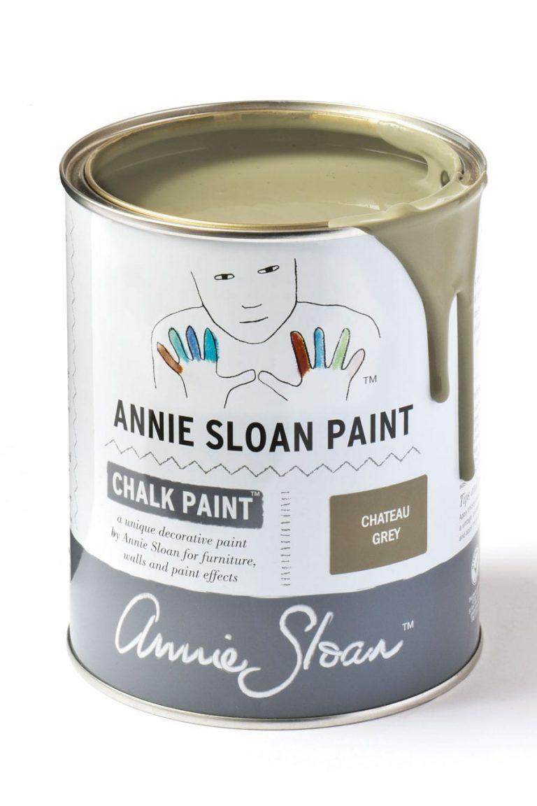 Quart 32 oz Chateau Grey Annie Sloan Chalk Paint Can