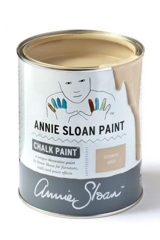 Quart 32 oz Country Grey Annie Sloan Chalk Paint Can