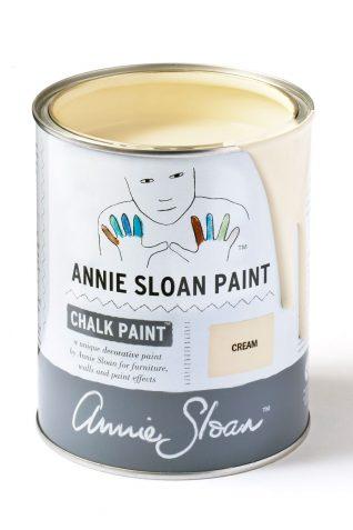 Quart 32 oz Cream Annie Sloan Chalk Paint Can