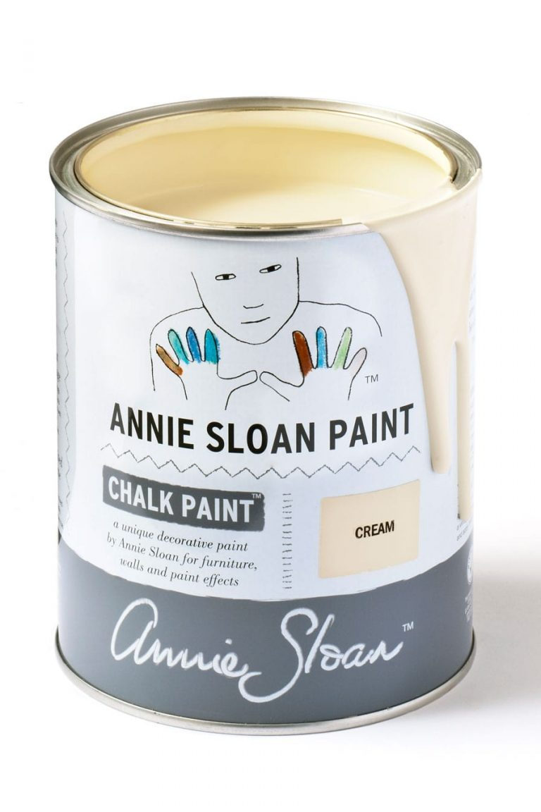 Quart 32 oz Cream Annie Sloan Chalk Paint Can