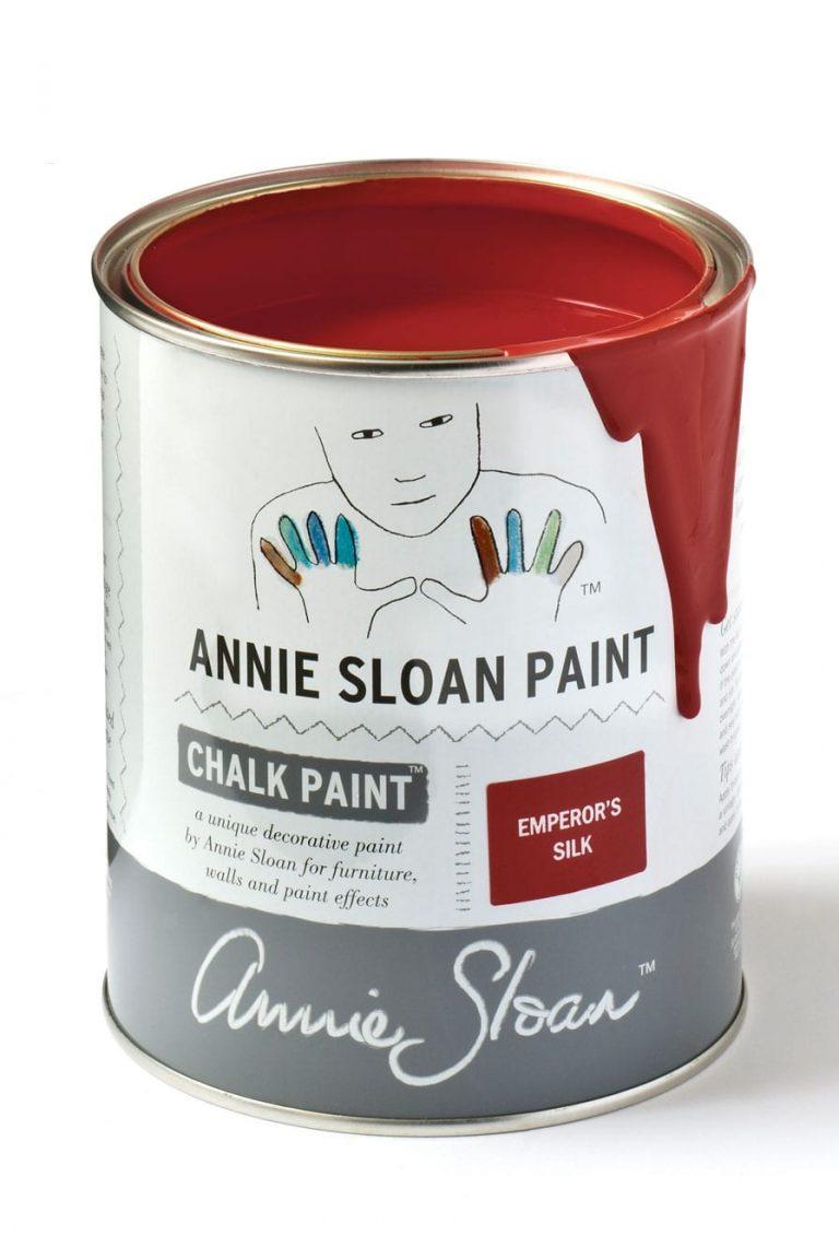 Quart 32 oz Emperors Silk Annie Sloan Chalk Paint Can