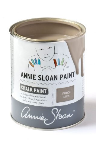 Quart 32 oz French Linen Annie Sloan Chalk Paint Can
