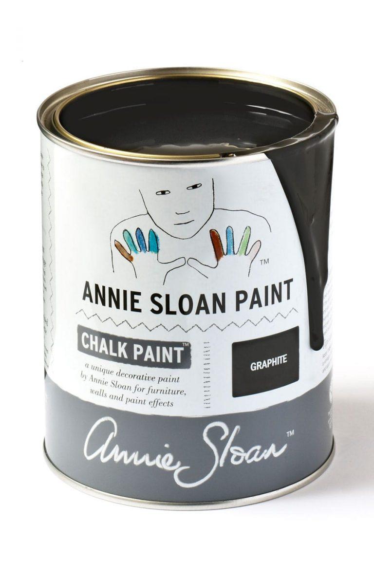 Quart 32 oz Graphite Annie Sloan Chalk Paint Can