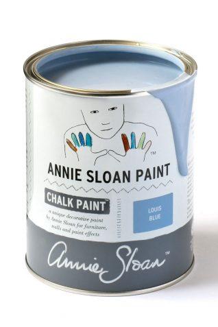 Quart 32 oz Louis Blue Annie Sloan Chalk Paint Can