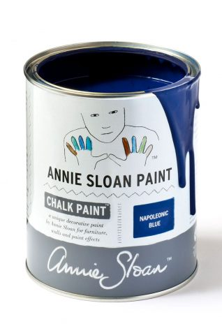 Quart 32 oz Napoleonic Blue Annie Sloan Chalk Paint Can