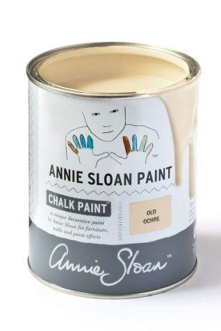 Quart 32 oz Old Ochre Annie Sloan Chalk Paint Can