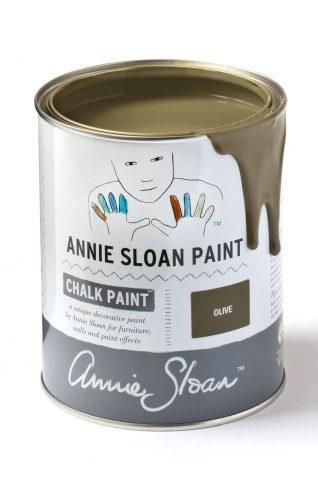 Quart 32 oz Olive Annie Sloan Chalk Paint Can