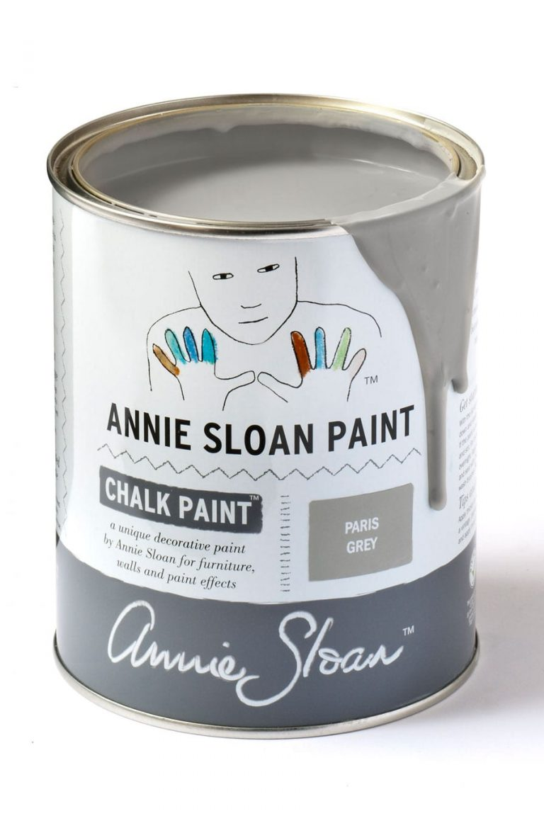 Quart 32 oz Paris Grey Annie Sloan Chalk Paint Can