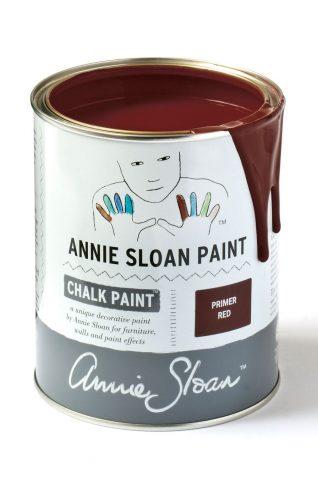 Quart 32 oz Primer Red Annie Sloan Chalk Paint Can