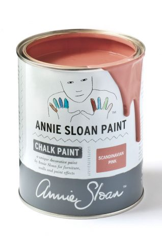 Quarts 32 oz Scandinavian Pink Annie Sloan Chalk Paint Can