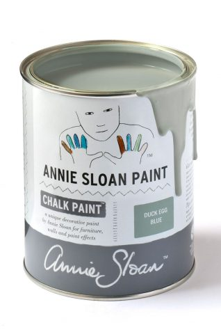 Quart 32 oz Duck Egg Blue Annie Sloan Chalk Paint Can