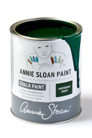 Quart 32 oz Amsterdam Green Annie Sloan Chalk Paint Can