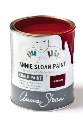 Quart 32 oz Burgundy Annie Sloan Chalk Paint Can